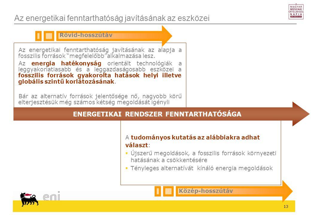 Az energetikai fenntarthatóság javításának az eszközei