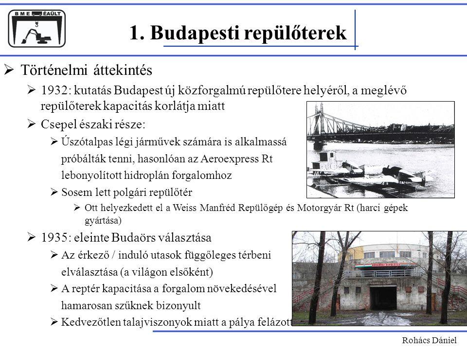 1. Budapesti repülőterek