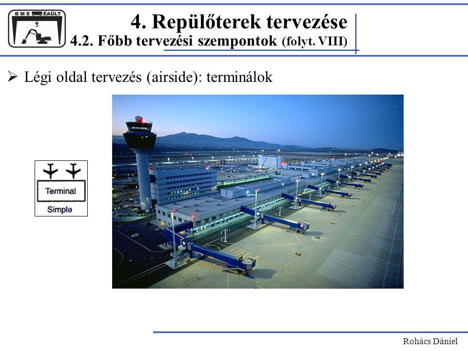 4. Repülőterek tervezése