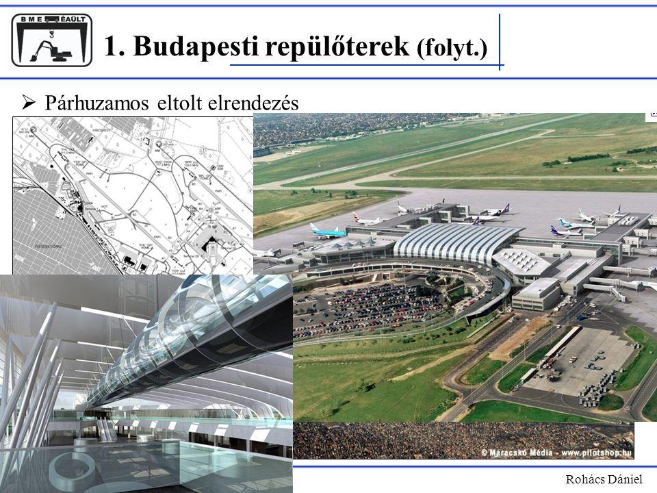 1. Budapesti repülőterek (folyt.)
