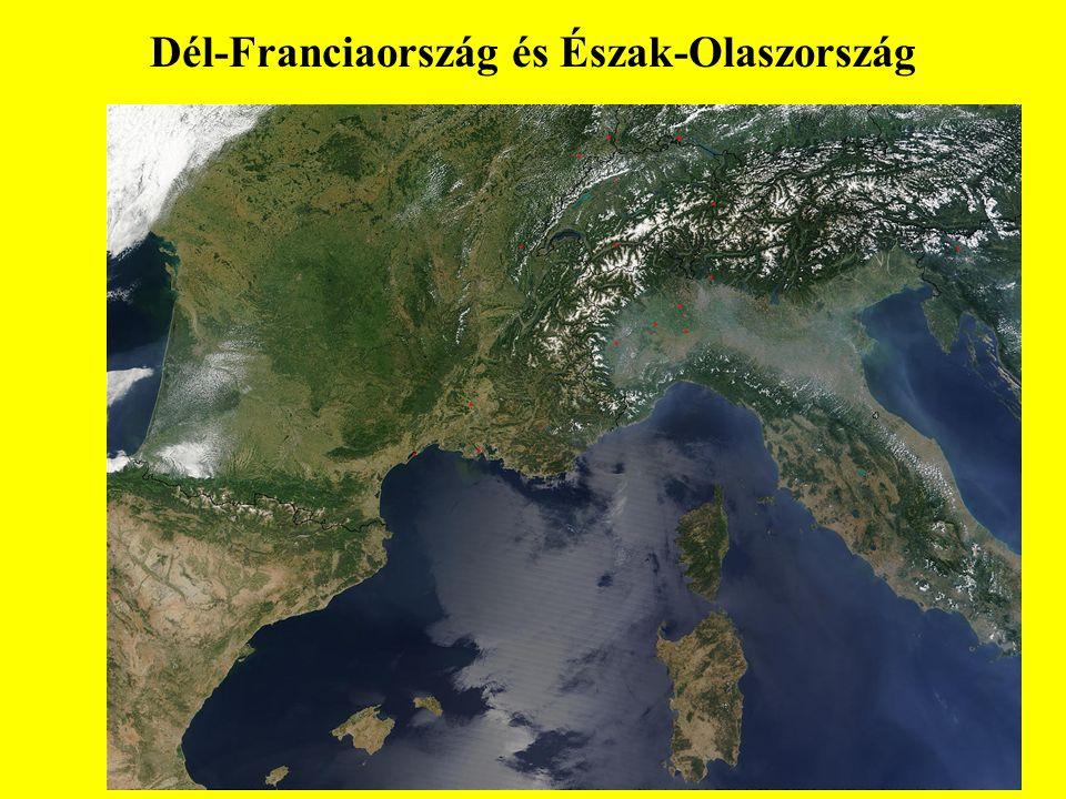 Dél-Franciaország és Észak-Olaszország