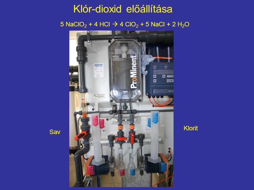 Klór-dioxid előállítása