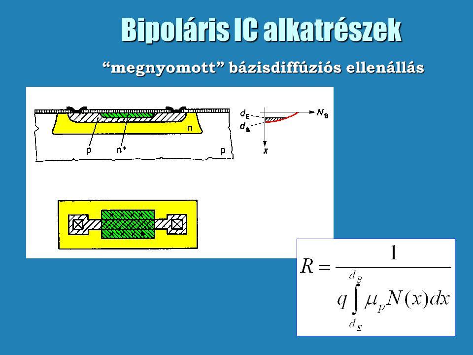 Bipoláris IC alkatrészek