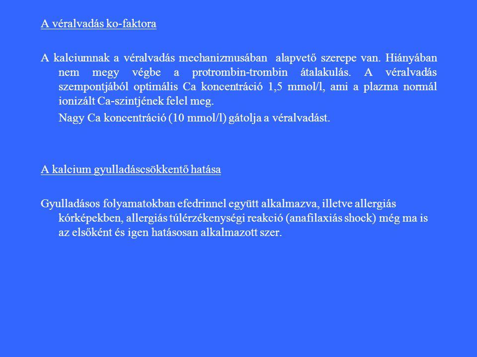 A véralvadás ko-faktora