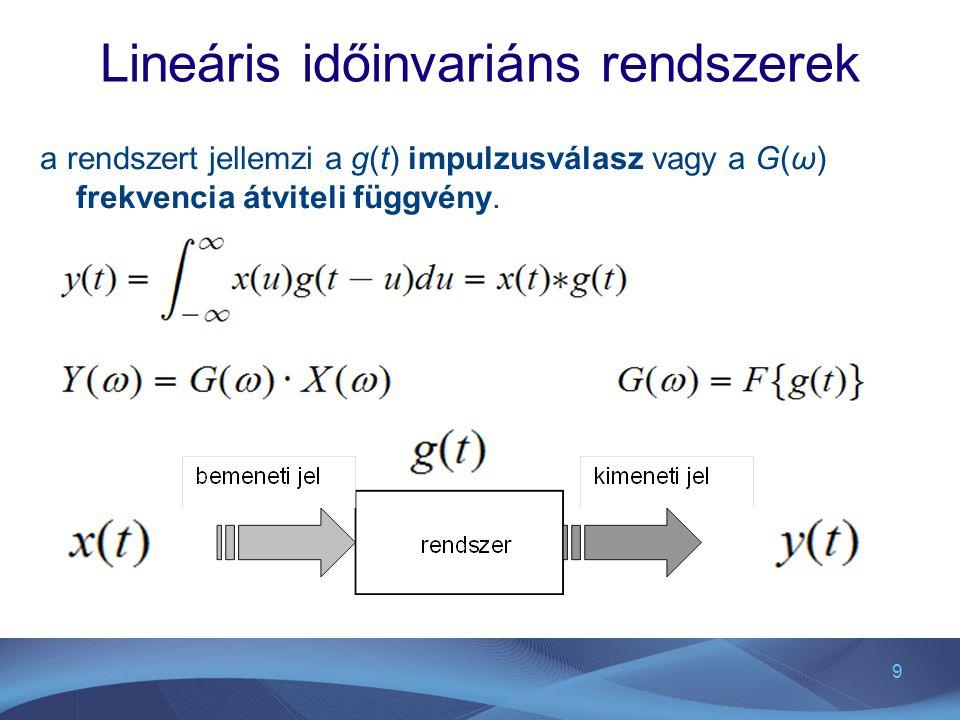 Lineáris időinvariáns rendszerek
