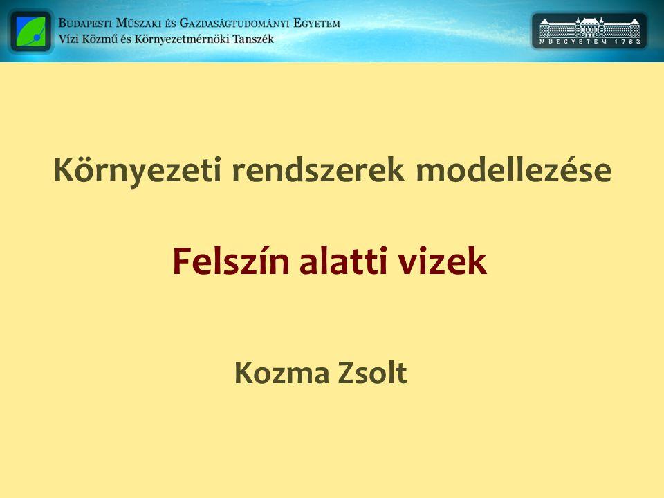 Környezeti rendszerek modellezése