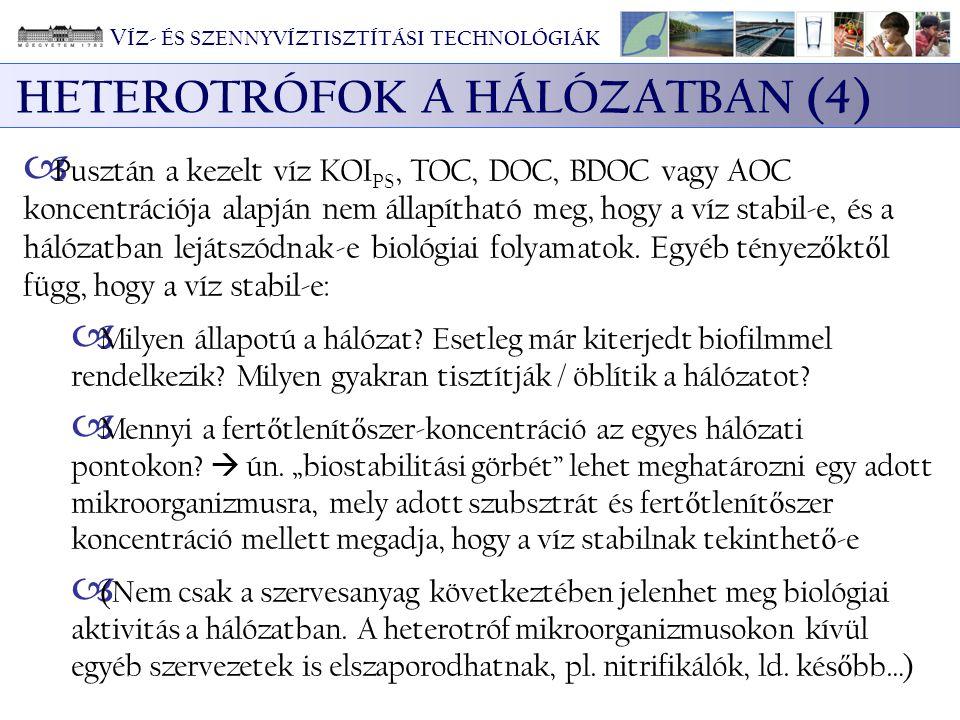 HETEROTRÓFOK A HÁLÓZATBAN (4)
