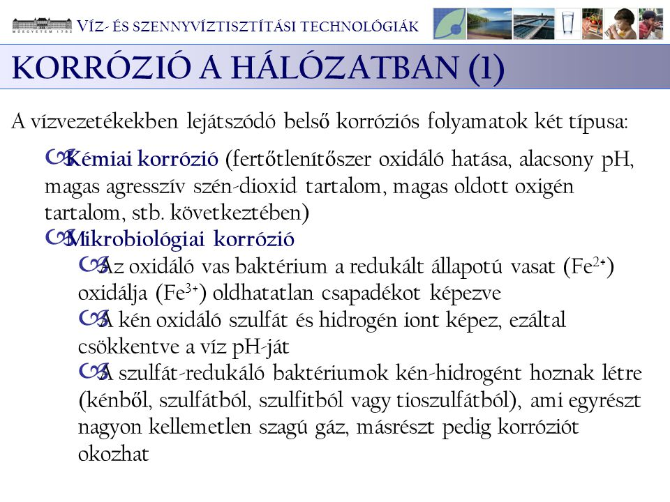 KORRÓZIÓ A HÁLÓZATBAN (1)