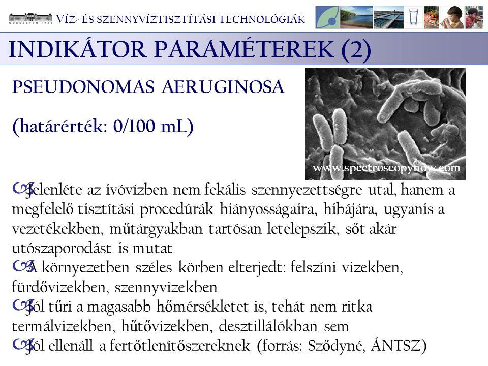 INDIKÁTOR PARAMÉTEREK (2)