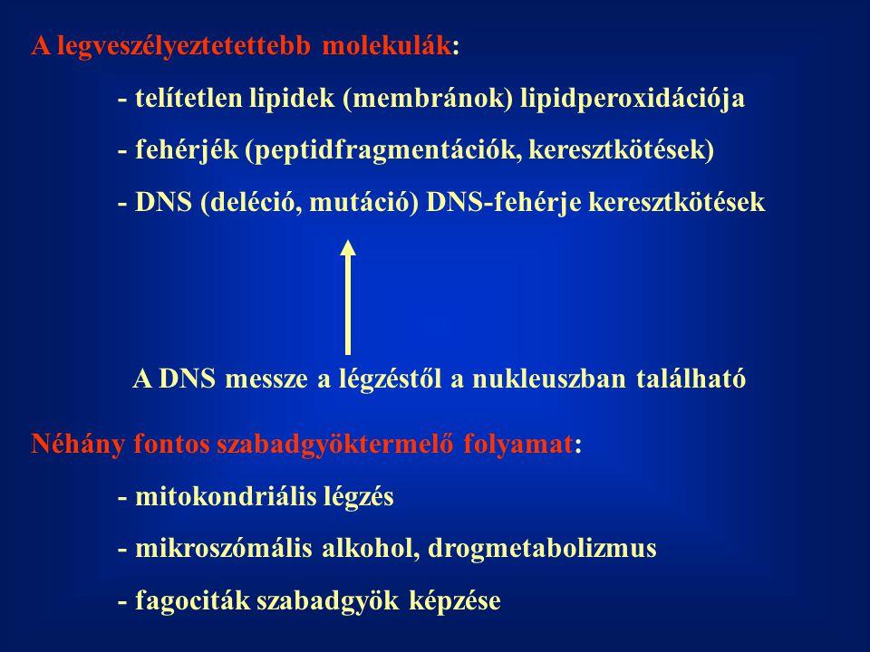 A legveszélyeztetettebb molekulák:
