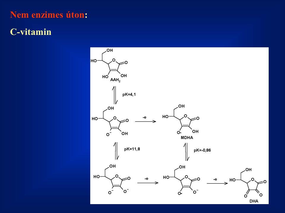 Nem enzimes úton: C-vitamin
