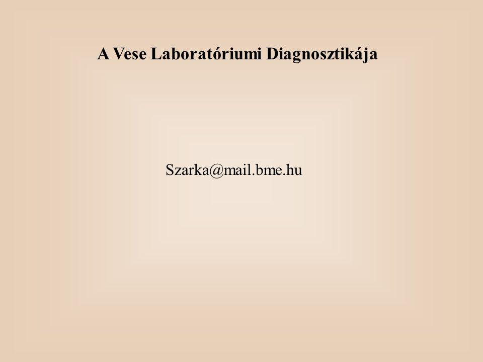 A Vese Laboratóriumi Diagnosztikája