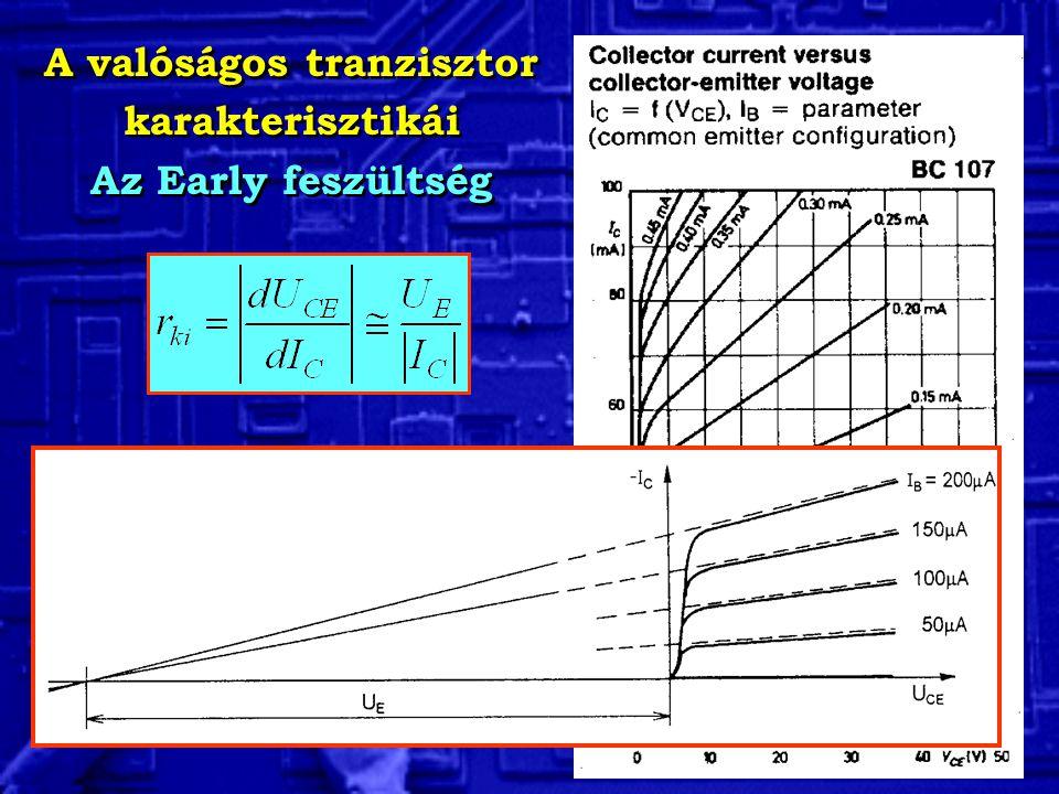 A valóságos tranzisztor