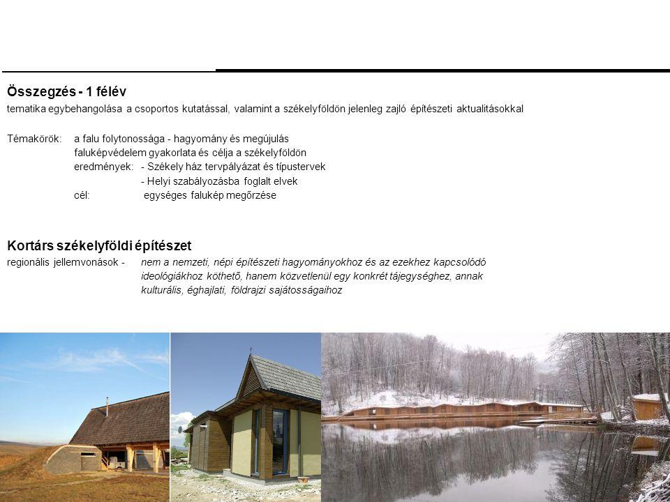 Kortárs székelyföldi építészet