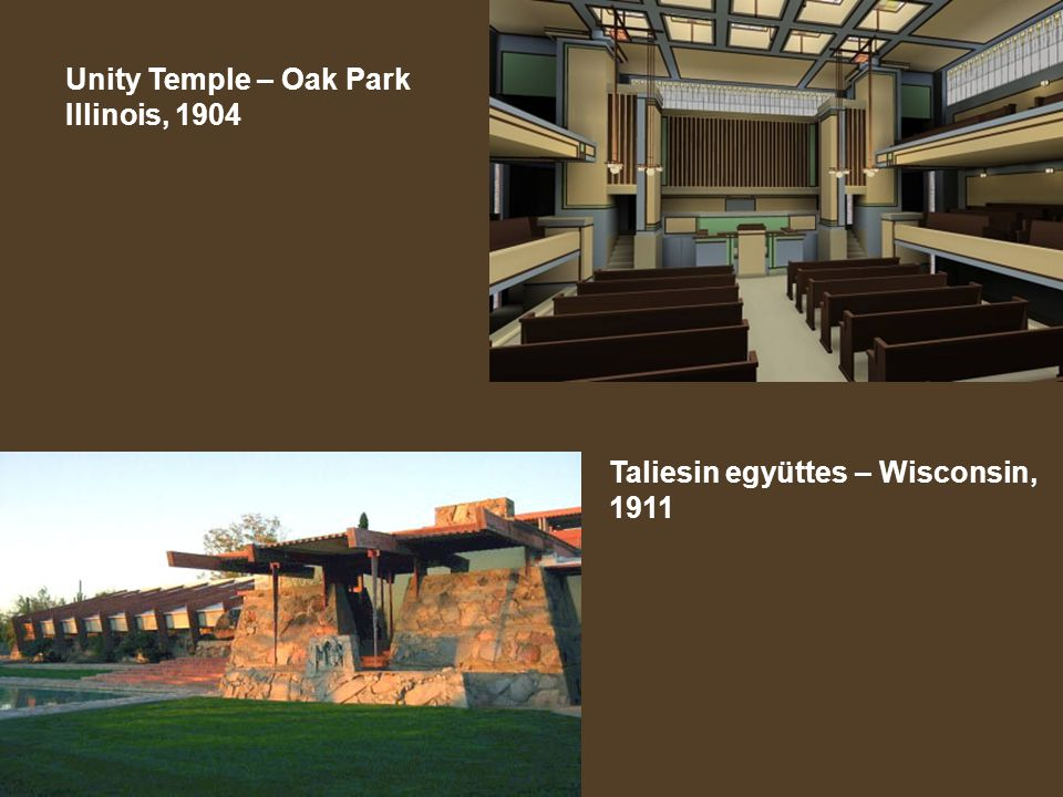 Unity Temple – Oak Park Illinois, 1904