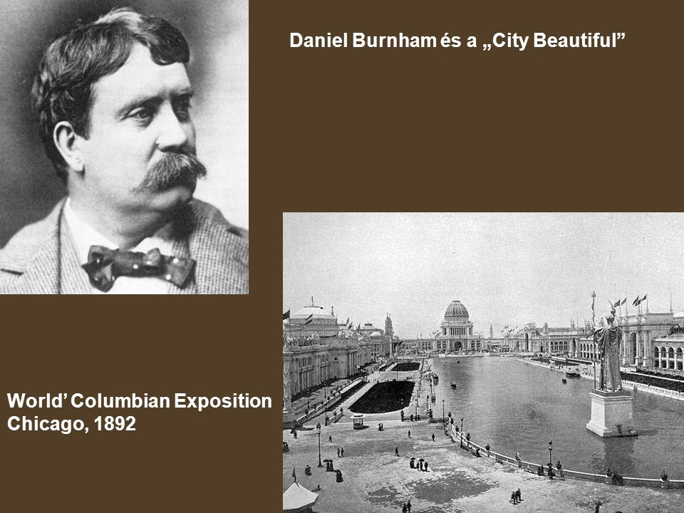 "Daniel Burnham és a ""City Beautiful"