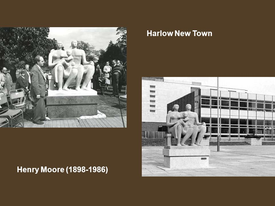 Harlow New Town Henry Moore (1898-1986)