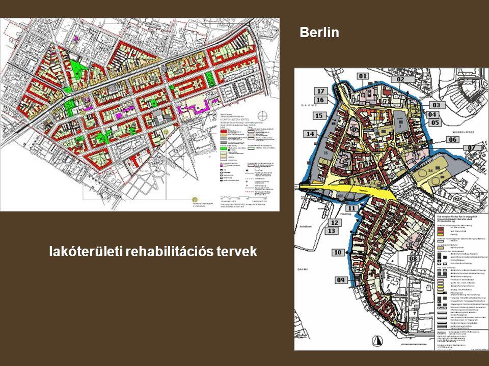 Berlin lakóterületi rehabilitációs tervek