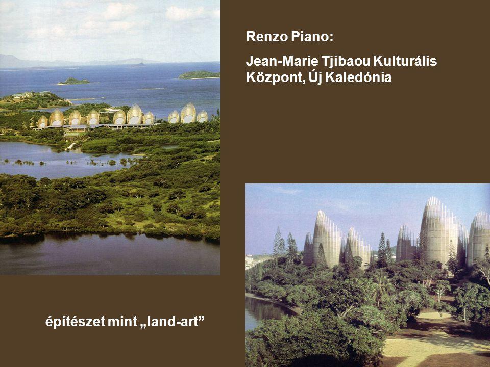 """Renzo Piano: Jean-Marie Tjibaou Kulturális Központ, Új Kaledónia építészet mint """"land-art"""