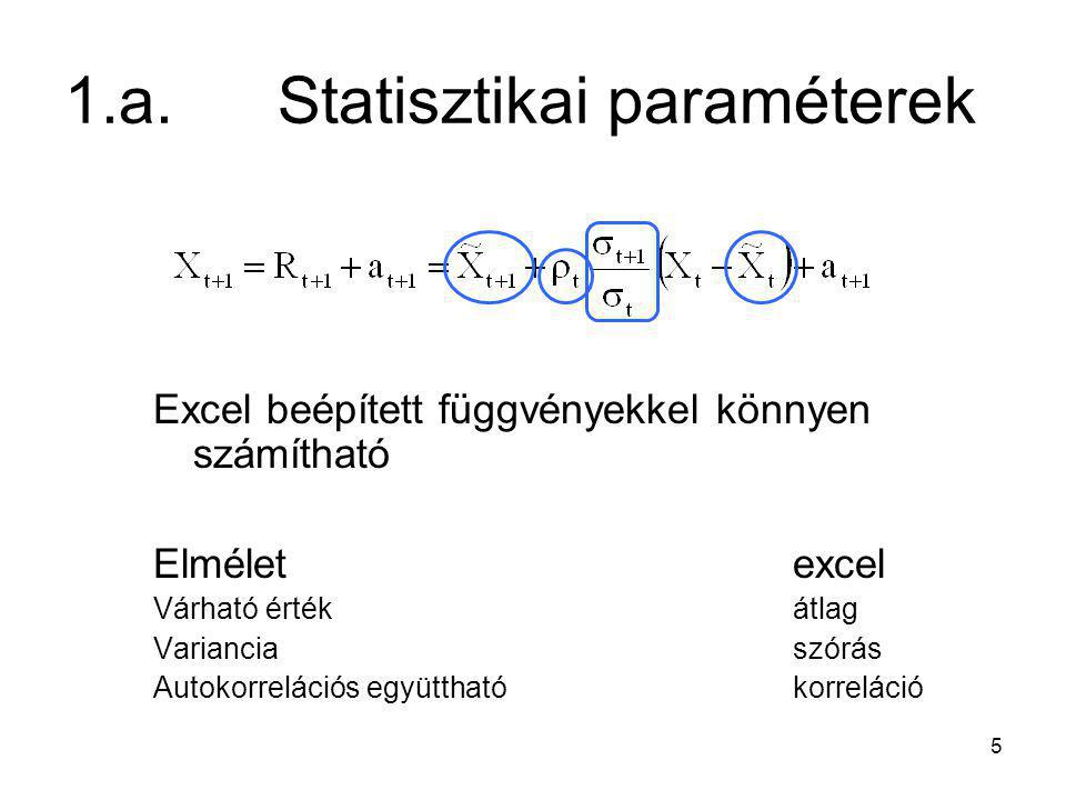 1.a. Statisztikai paraméterek