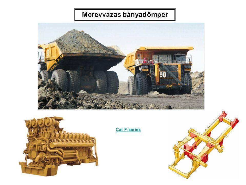 Merevvázas bányadömper
