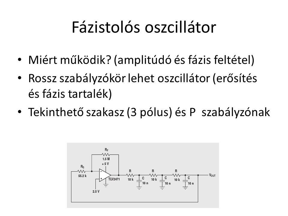 Fázistolós oszcillátor