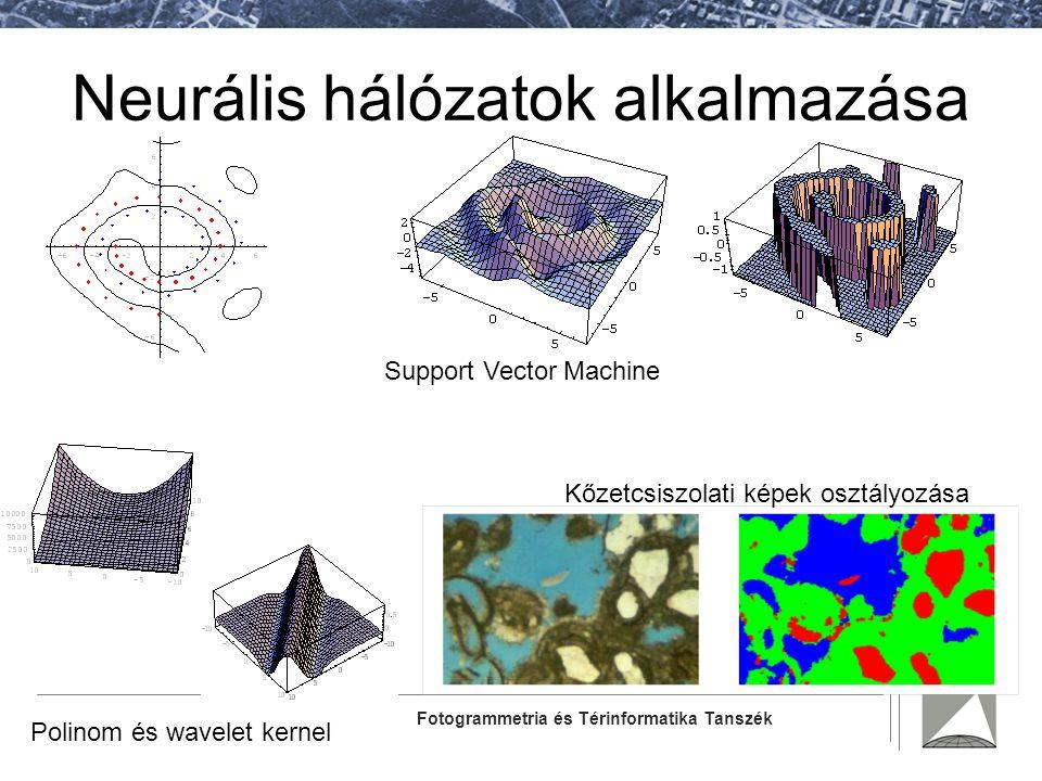 Neurális hálózatok alkalmazása