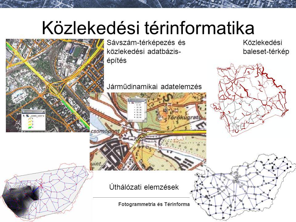 Közlekedési térinformatika