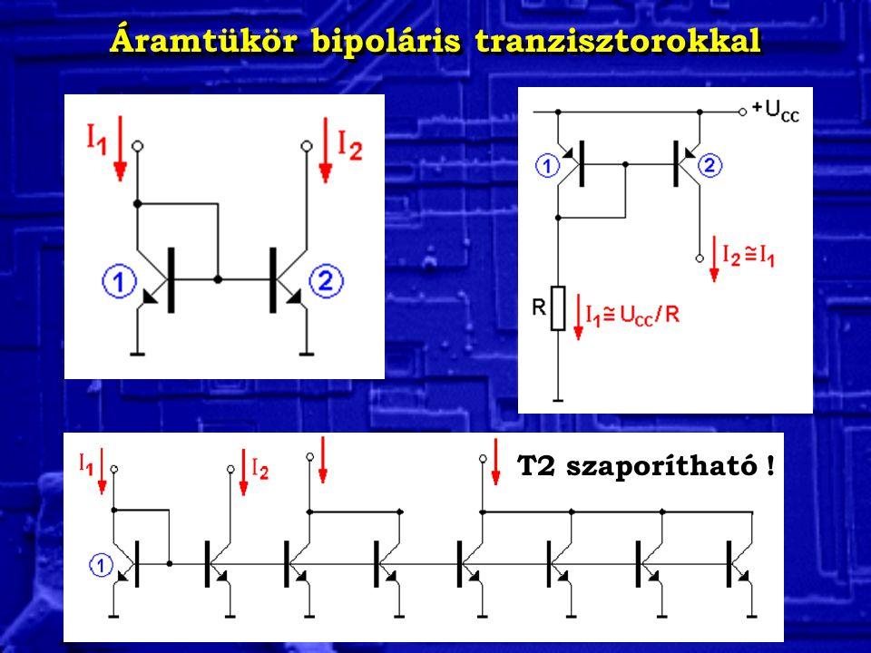 Áramtükör bipoláris tranzisztorokkal