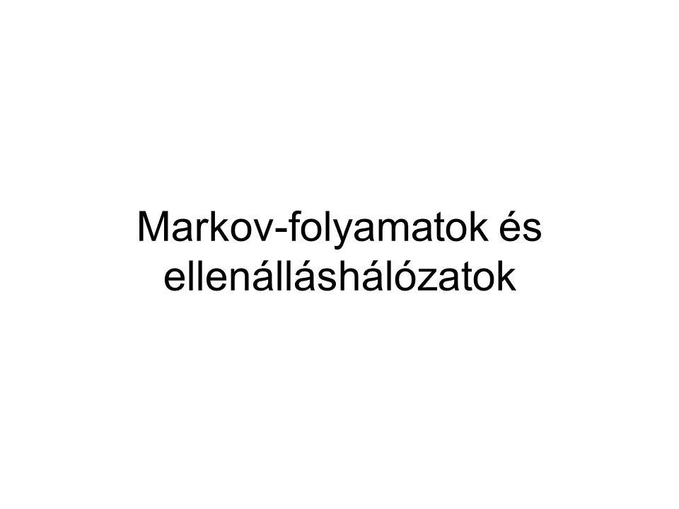 Markov-folyamatok és ellenálláshálózatok