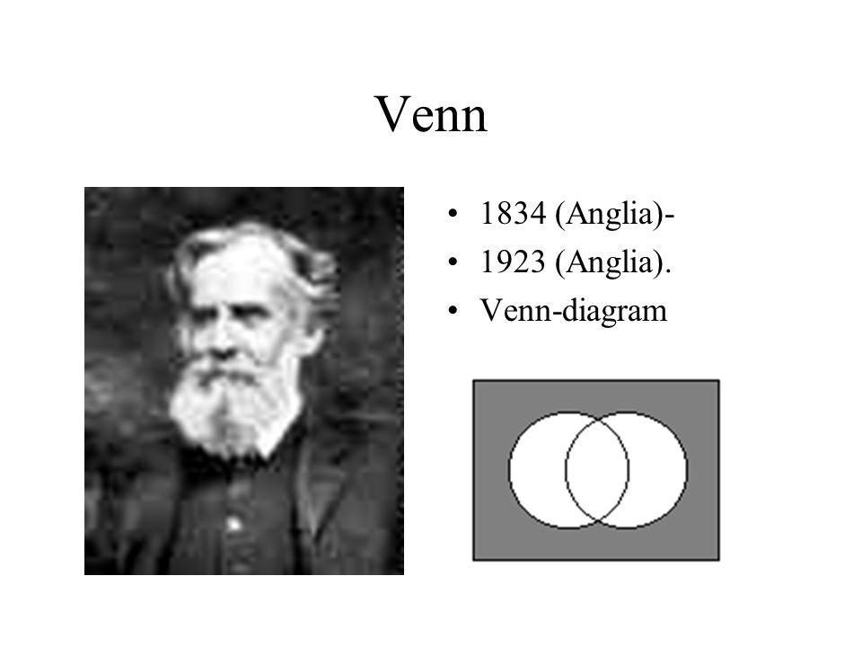 Venn 1834 (Anglia)- 1923 (Anglia). Venn-diagram