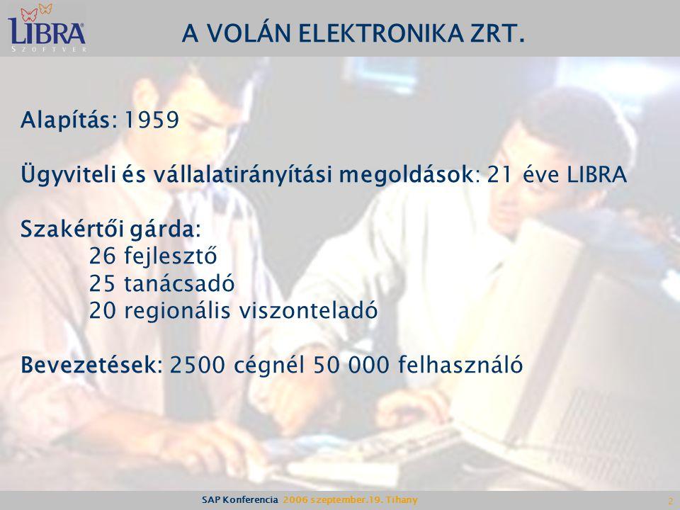 A VOLÁN ELEKTRONIKA ZRT.