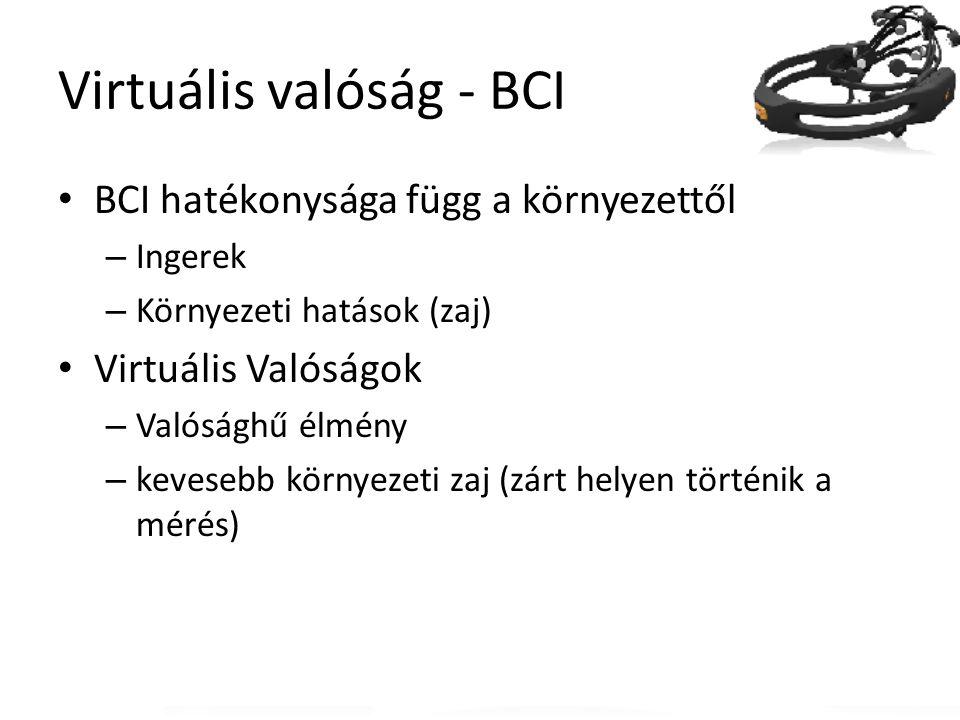 Virtuális valóság - BCI