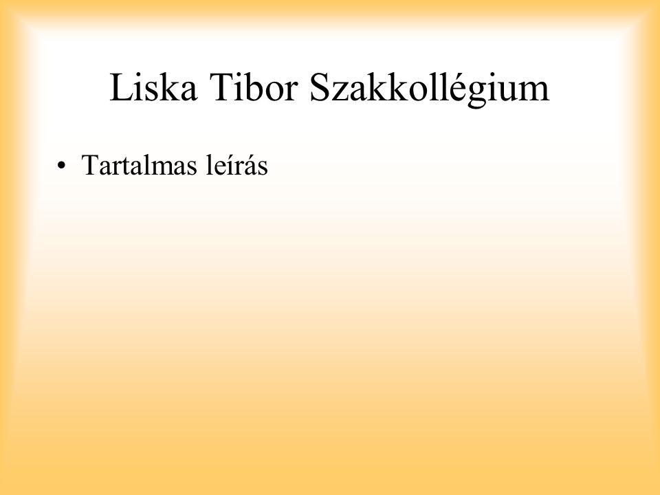 Liska Tibor Szakkollégium