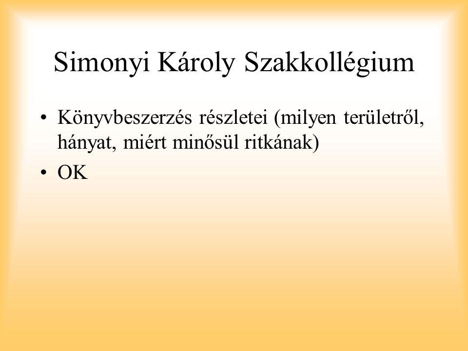 Simonyi Károly Szakkollégium