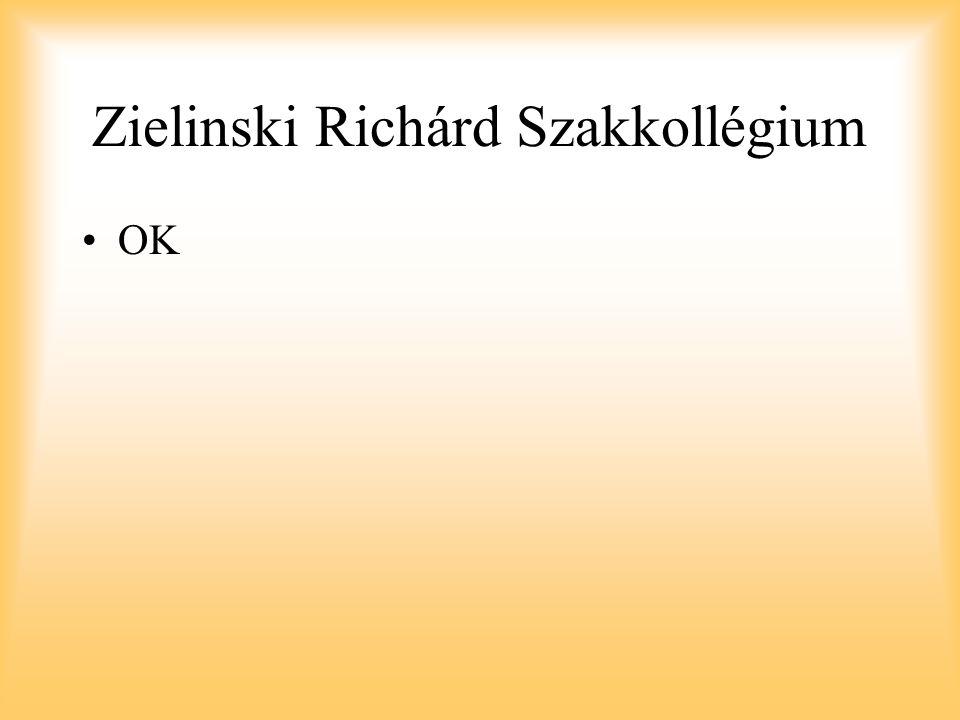 Zielinski Richárd Szakkollégium
