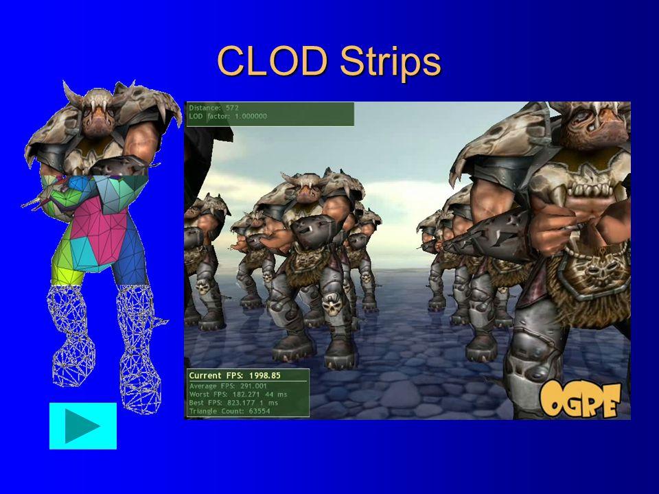 CLOD Strips