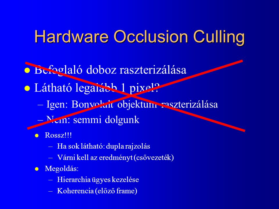 Hardware Occlusion Culling