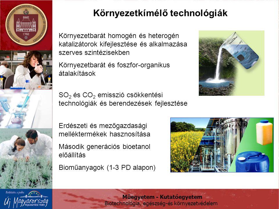 Környezetkímélő technológiák