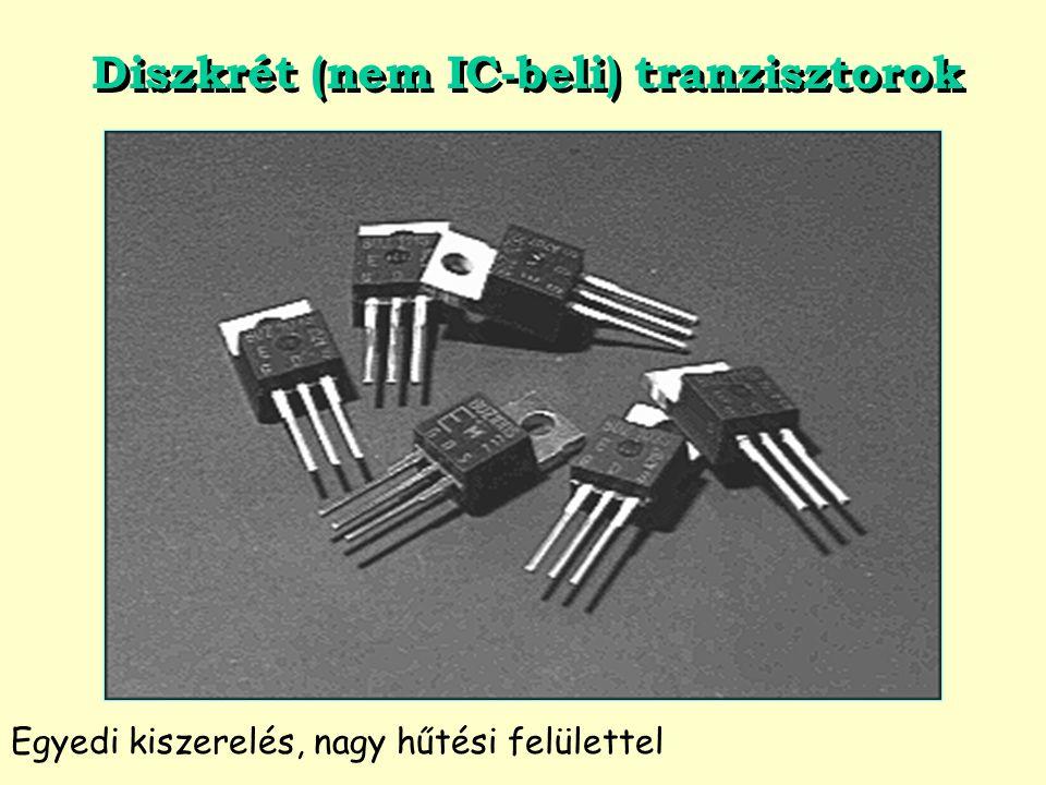Diszkrét (nem IC-beli) tranzisztorok