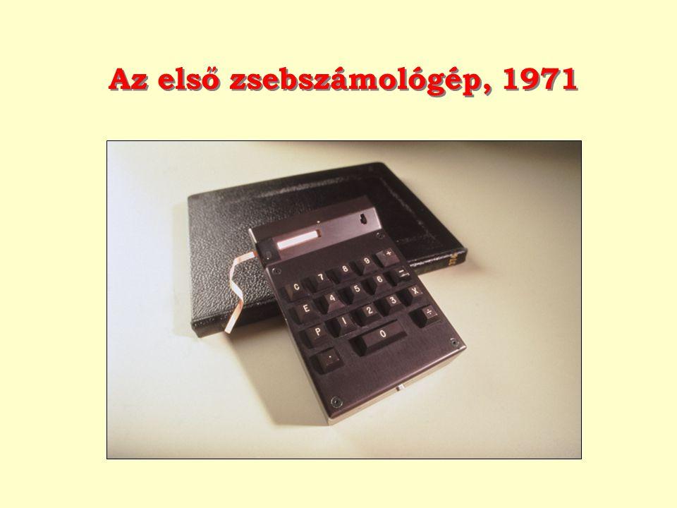 Az első zsebszámológép, 1971