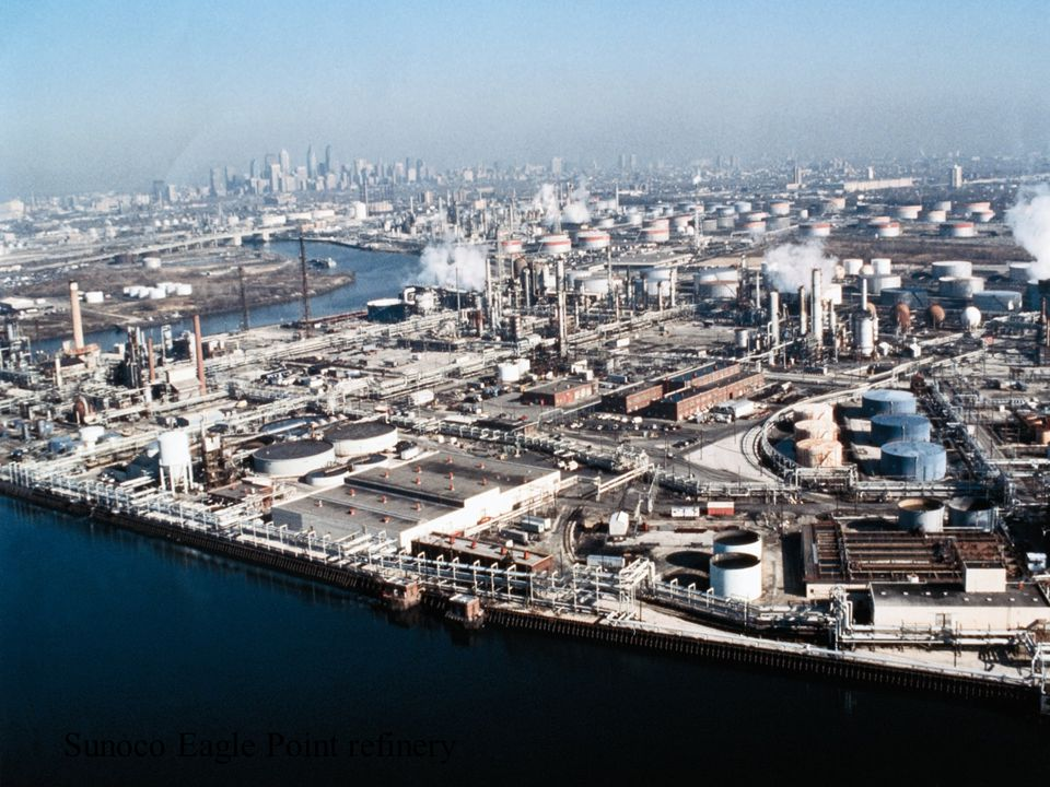 Sunoco Eagle Point refinery