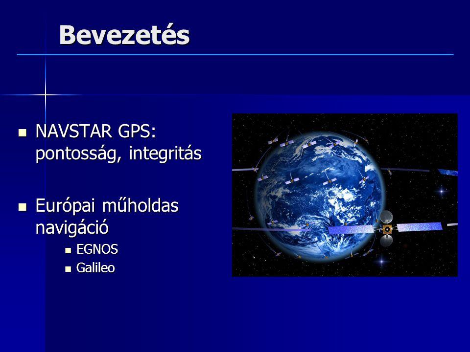 Bevezetés NAVSTAR GPS: pontosság, integritás