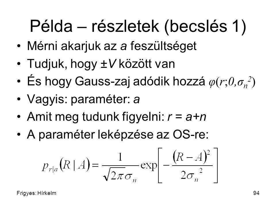 Példa – részletek (becslés 1)