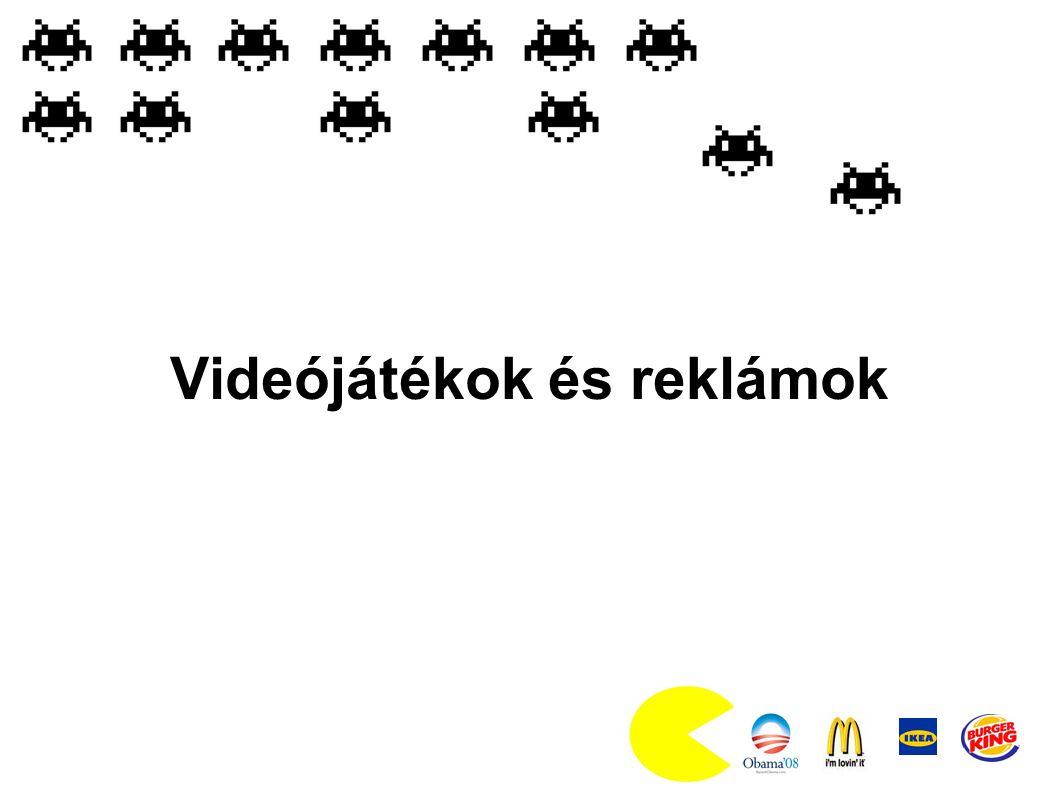 Videójátékok és reklámok