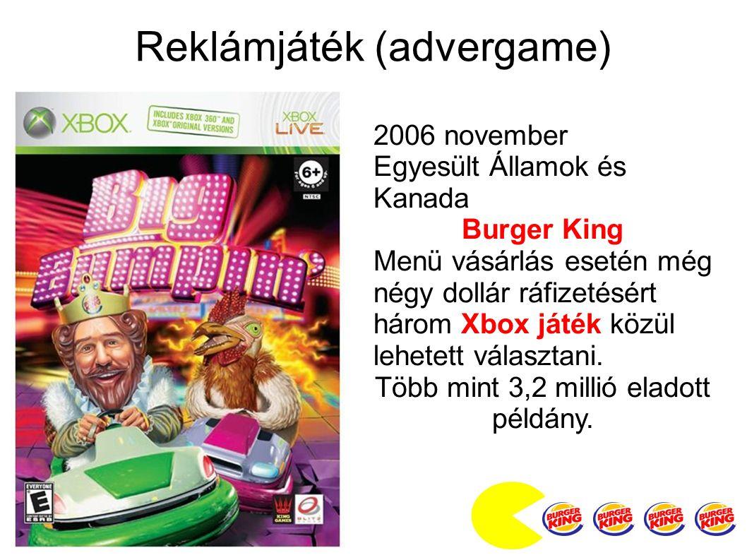 Reklámjáték (advergame)