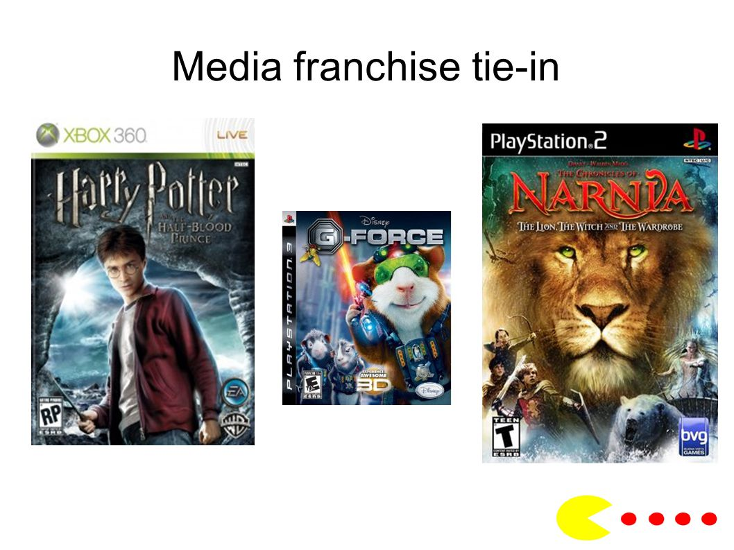 Media franchise tie-in