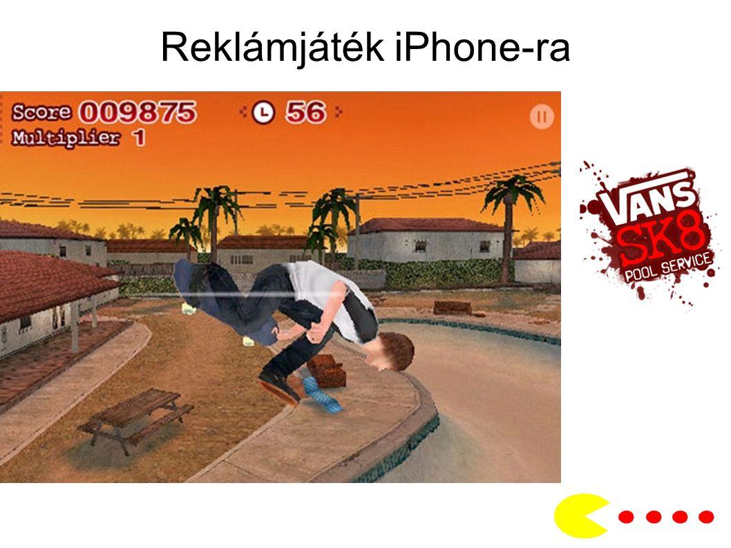 Reklámjáték iPhone-ra