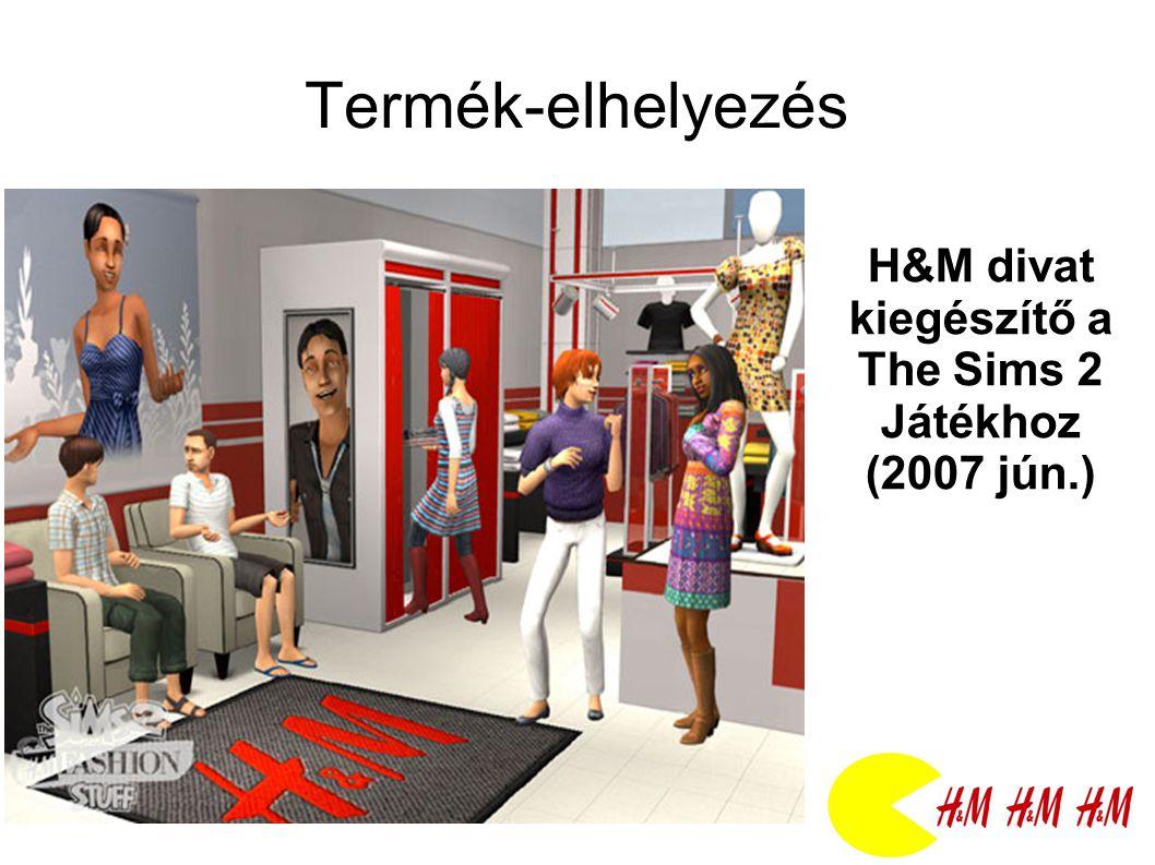 H&M divat kiegészítő a The Sims 2 Játékhoz (2007 jún.)