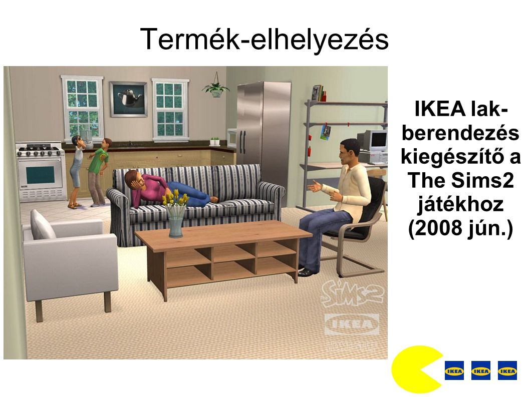 IKEA lak-berendezés kiegészítő a The Sims2 játékhoz (2008 jún.)
